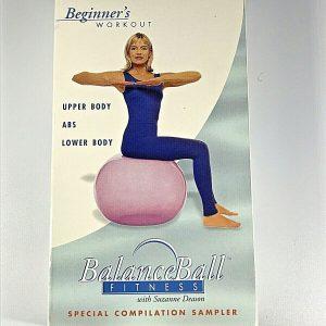 Living Arts Balance Ball Fitness VHS Beginner's Workout