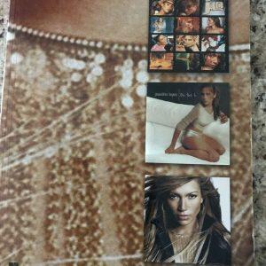 Jennifer Lopez: The Hits Sheet Music Book Piano Vocal Guitar Sheet Music