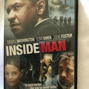 Inside Man (DVD, 2006, Anamorphic Widescreen) Denzel Washington Clive Owen