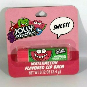Candy Flavored Lip Balm 0.12 oz Stocking Stuffer Nerds, Jolly Rancher, Blow Pops