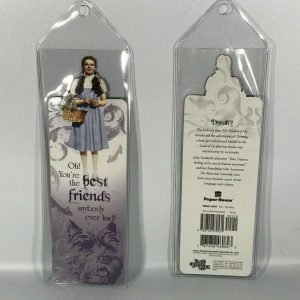 Set of 2 Wizard Of Oz Bookmark Dorothy Toto Oh! You're The Best Friends