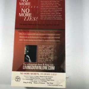 No More Secrets, No More Lies VHS Executive Producer JL King – Rare – OOP