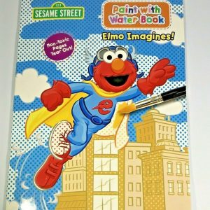 Sesame Street Paint With Water Book Paperback Elmo Imagines