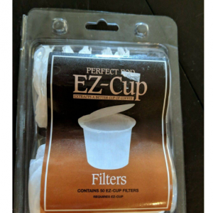 Perfect Pod EZ-Cup Disposable Paper Coffee Filter for Keurig
