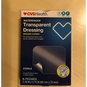 CVS Health Advanced Care Waterproof Transparent Dressings, 6 count