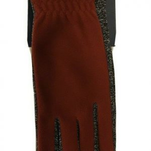 Isotoner Women's Smartdri Gloves, Touchscreen Enabled, Red, 1 sz