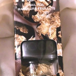 Nail Rock Gold Nail Foil Includes Nail Polish and Nail Foil