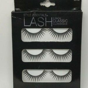3 pack Style Essentials Lash Classic Eyelashes False Lashes