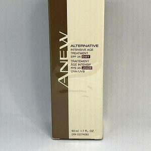 Avon Anew Alternative Intensive Age Treatment SPF 25 Day AM 50 mL EXP 10/09