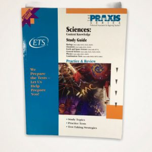 Sciences: Content Knowledge Study Guide (Praxis Study Guides) – Paperback