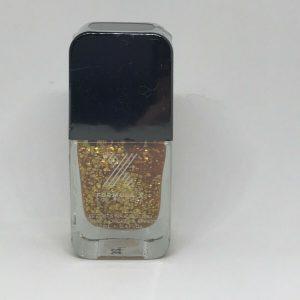 Sephora Formula X Spark Nail Color Nail Polish 0.4 Fl oz Gold