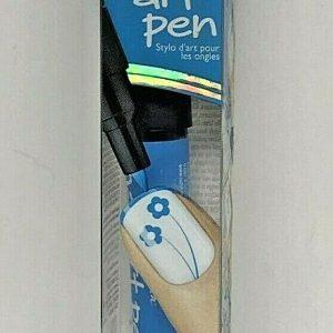 Sally Henson Nail Art Pen #11 Bright Blue Design, Seal, & Go