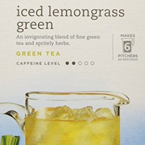 Tazo – Iced Lemongrass Green Tea – 6 Tea Bags (item is 3.15 oz)