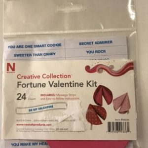 Neenah Creative Collection Paper Fortune Valentine Kit Includes Message Strips