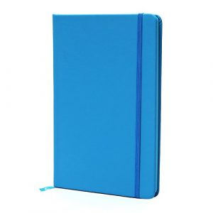 BIOBAY Classic Ruled Travel Notebook | Hardcover Writing Journal and Diary – Premium Lined Paper and Durable Design – 160 pages – Assorted Solid Colors