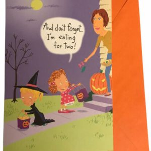 Halloween Funny That's Life Greeting Card Paper Rainbow Press