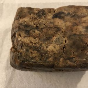 Ghanaian Hand Crafted Natural African Black Hand, Face, Body Cleansing Soap 1 oz