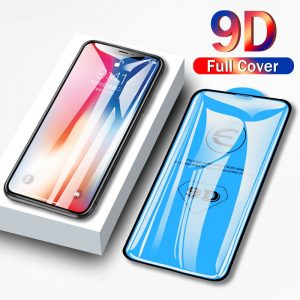 Tempered Protective glass for iphone 11 ProMax Black Edge Screen Protector