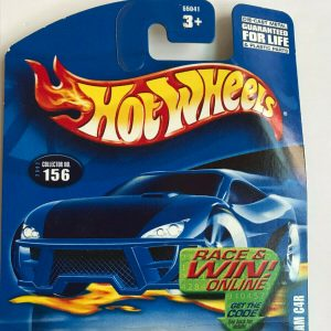 Hot Wheels Cunningham C4R #156 Dark Blue White Stripes 2002