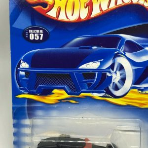 Hot Wheels Rat Rods Series Black Orange Vintage 2001 Track T No. 1/4