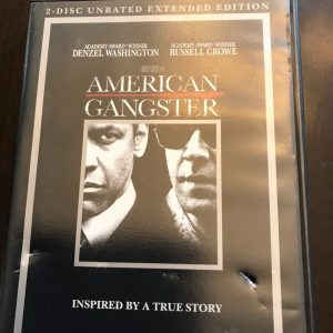 American Gangster (DVD, 2008) 2-Disc Unrated Extended Edition