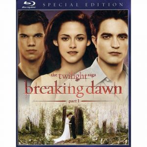 The Twilight Saga: Breaking Dawn – Part 1 (Blu-ray Disc, 2012) Special Edition
